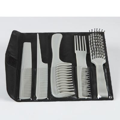 5-Pc. Styling Comb and Brush Set
