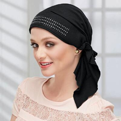 Rhinestone Detailed Turban