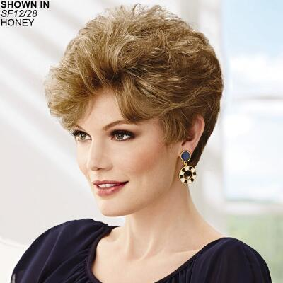 Deluxe Abby WhisperLite® Monofilament Wig by Paula Young®