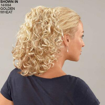 Curly Combs stretch-a-comb Hairpiece by Paula Young