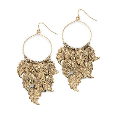 Antique Goldtone Earrings