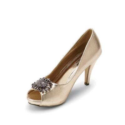 Hollywood Peep-toe Pumps by J. Loren Collection