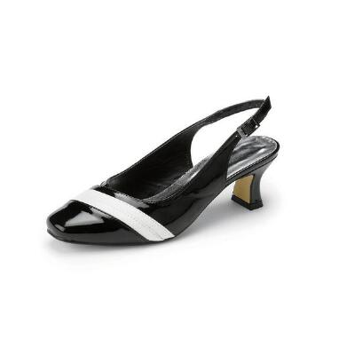 Right Stripe Slingbacks by Nicola