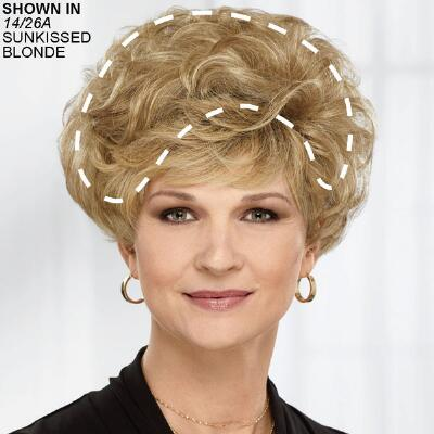 Crowning Touch WhisperLite® Wiglet Hairpiece by Paula Young®