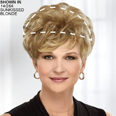Modest Touch WhisperLite® Hairpiece by Paula Young®