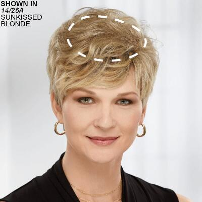 Delicate Touch WhisperLite Hairpiece by Paula Young