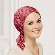 Watercolor Turban with Ties