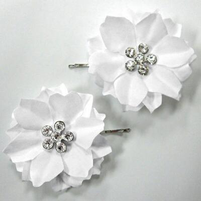 Flower Jewel Bobby Pins