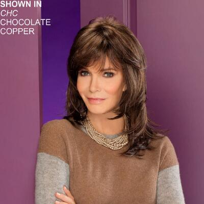 Diamond Monofilament Part Wig by Jaclyn Smith