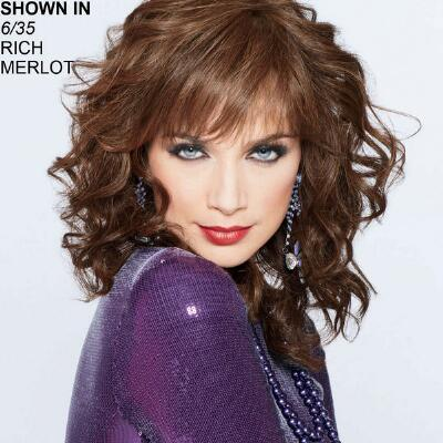 Gibson Girl Human Hair Wig by Joan Collins