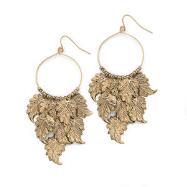 Antique Goldtone Earrings