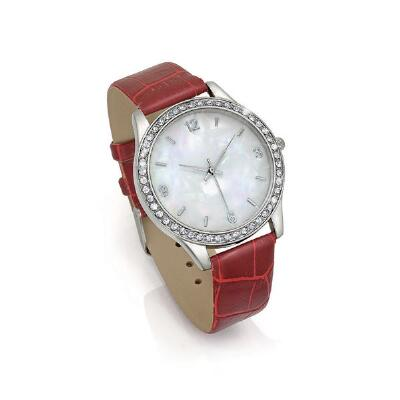 Silver Tone Quartz Watch