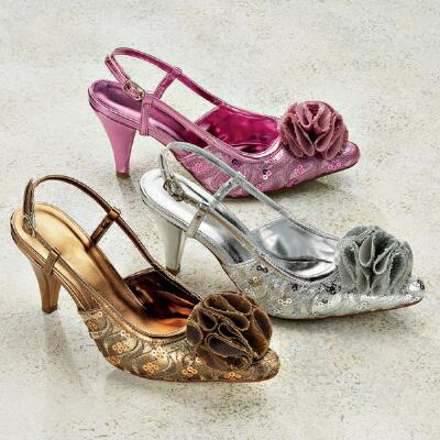 Lacey Rose Slingbacks by J. Loren Collection