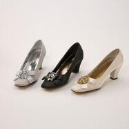 Satin Dream Pumps by Valenti Franco