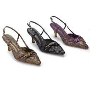New Dimension Slingbacks by J. Loren Collection