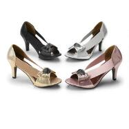 Flexy/Sexy Peep-toe Pumps by John Fashion