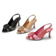 Rosie Peep-toe Slingbacks by Jewels by Jade
