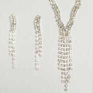 Cascade Necklace and Earring Set
