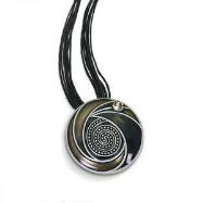 Necklace with Swirl Pendant