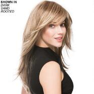 Long New Monofilament Wig by Ellen Wille