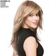 Long New Monofilament Wig by Ellen Wille