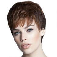 Textured Gamine Lace Front Wig by Tabatha Coffey™ LUXHAIR™ HOW™