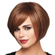 Angle Bob Lace Front Wig by Daisy Fuentes™ LUXHAIR™ WOW™