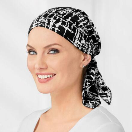 Abstract Print Turban