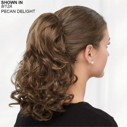 Bouncy Curls Clip-On Pony Hair Piece by Paula Young®