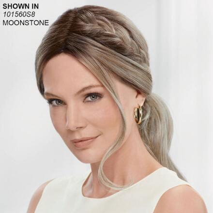 Braided Low Pony Lace Front VersaFiber® Wig by InVogue Collection
