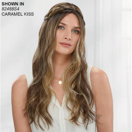 Braided Waterfall Lace Front VersaFiber® Wig by InVogue Collection