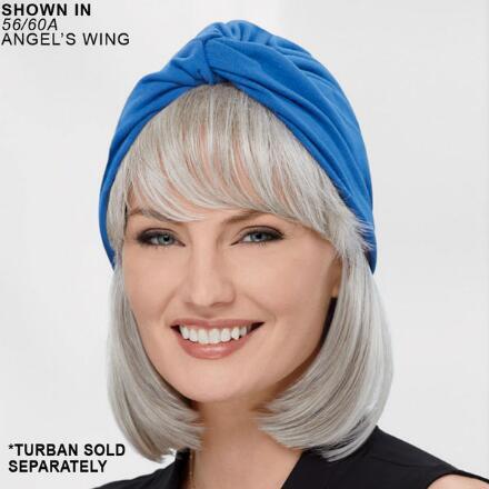Bob VersaFiber® Piece - Turban Hair System by Paula Young®
