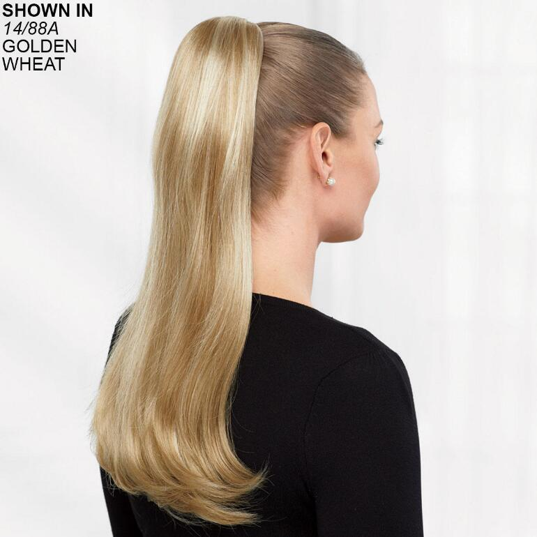 Long Straight Pony Hair Piece by Paula Young®