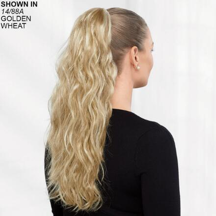Long Beachy Wave Pony Hair Piece by Paula Young®