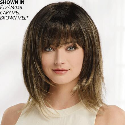 Razored Lob WhisperLite® Wig by Synergy Collection