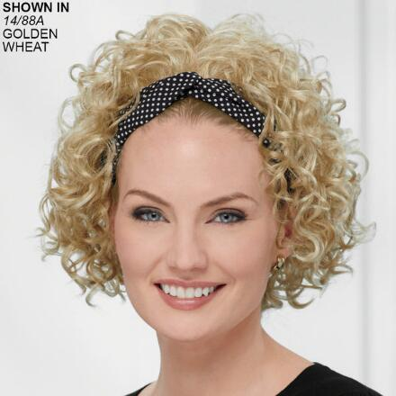 Scarf with Curls Headband Hair Piece by Paula Young®