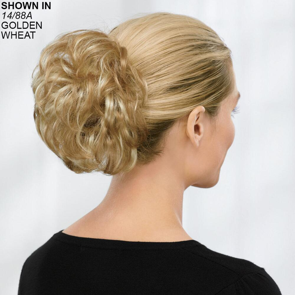 Short Wavy Clip-On Hair Piece by Paula Young® 1e1803c3f93d