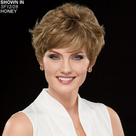 Sheer Abby Hand-Tied WhisperLite® Wig by Couture Collection
