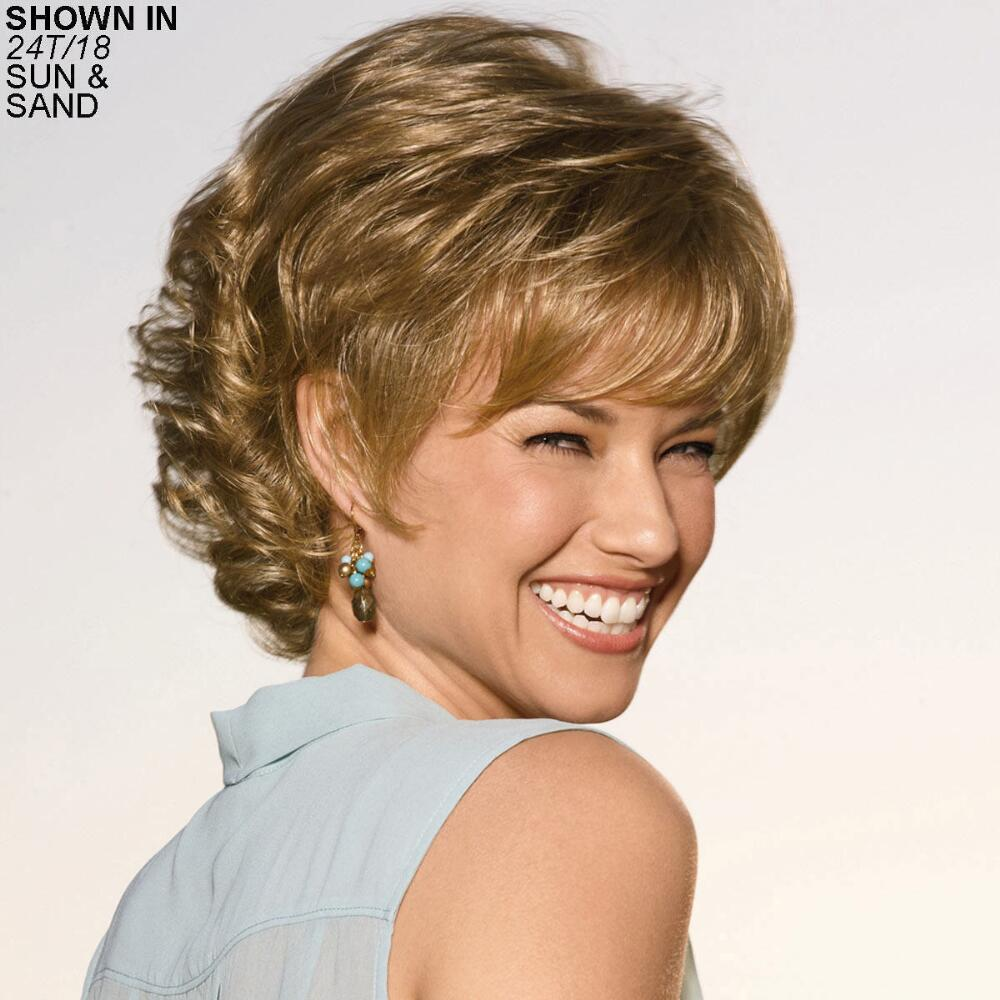 Highlighted Hair Color Wigs Wig Styles With Highlights Paula Young