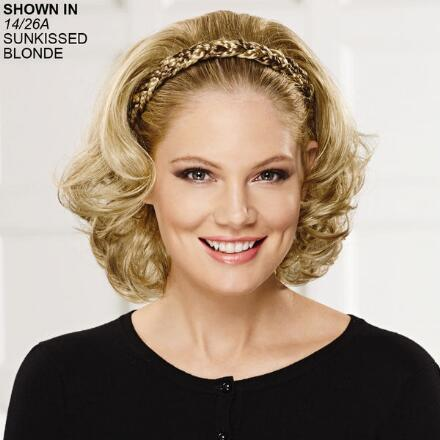 Braided Headband Hair Piece with Hair by Paula Young®