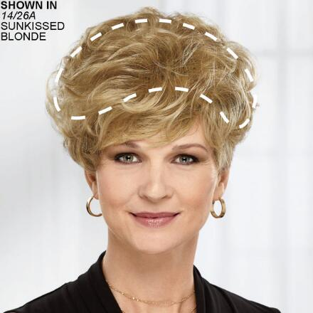 New Lasting Touch Wiglet Hair Piece by Paula Young®