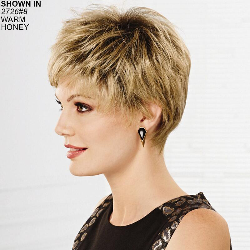 Geneva Whisperlite Wig By Paula Young Is A Chic Pixie