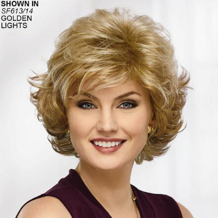 Color Me Beautiful Wig By Paula Young Has Wispy Layers Paula Young
