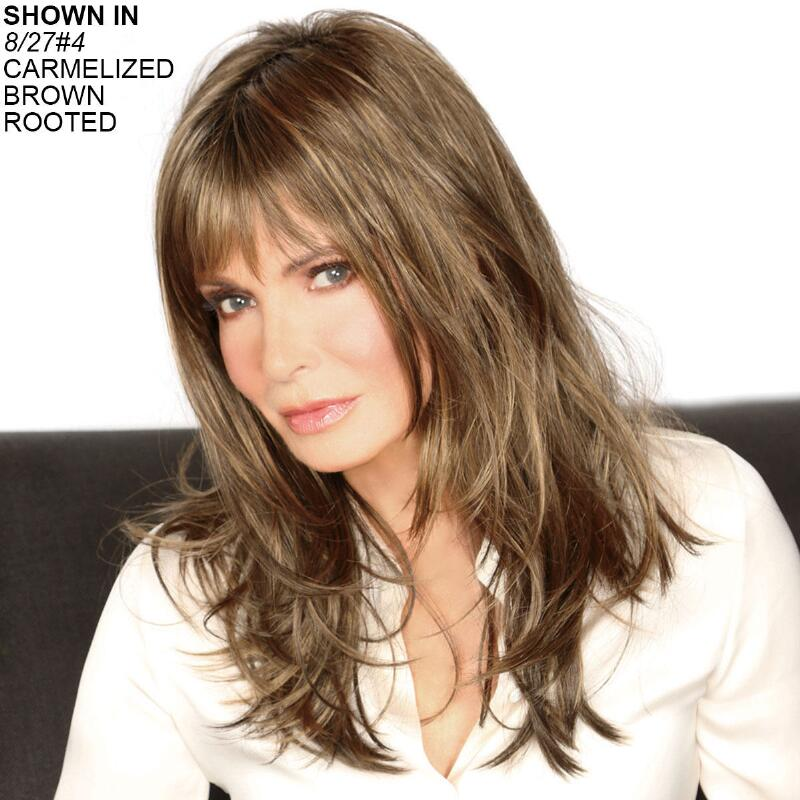 Bridgette Wig By Jaclyn Smith Brunette Wigs Wigs Paula Young