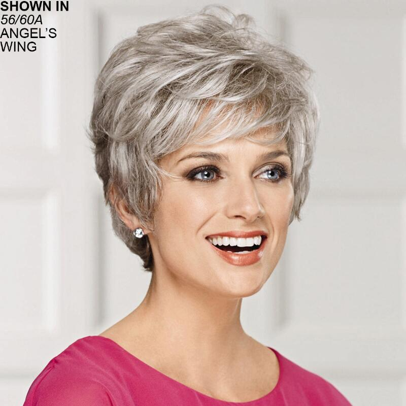 Sensational Wig By Paula Young Has Short Tapered Layers