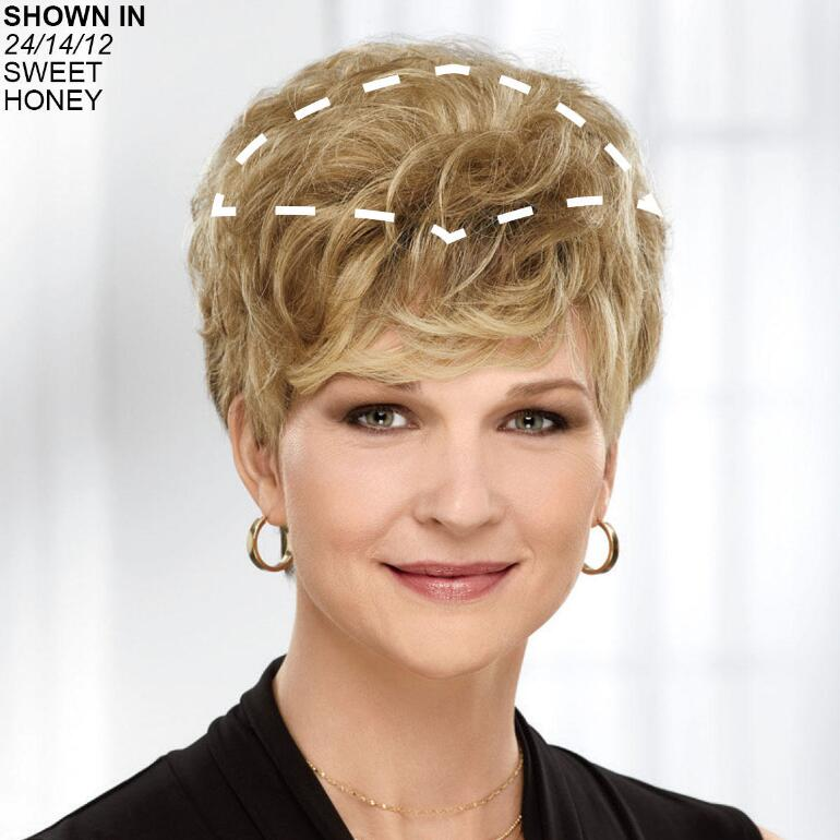 Lite Touch Human Hair Wiglet Hair Piece by Paula Young®