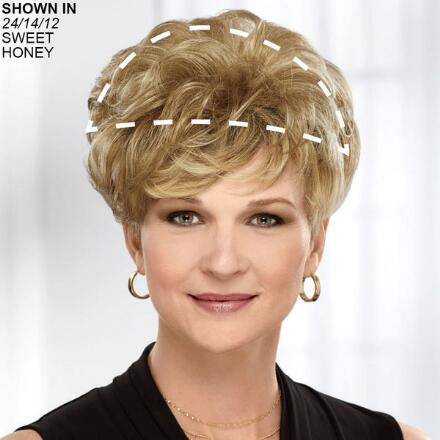 Modest Touch Human Hair Wiglet Hair Piece by Paula Young®