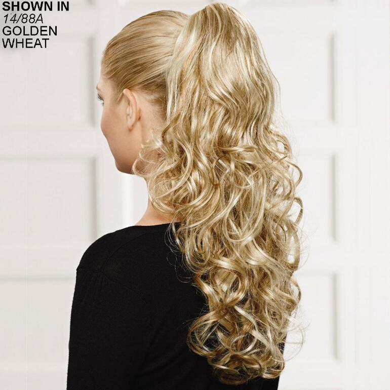 Cascading Curls Clip-On Hair Piece by Paula Young®