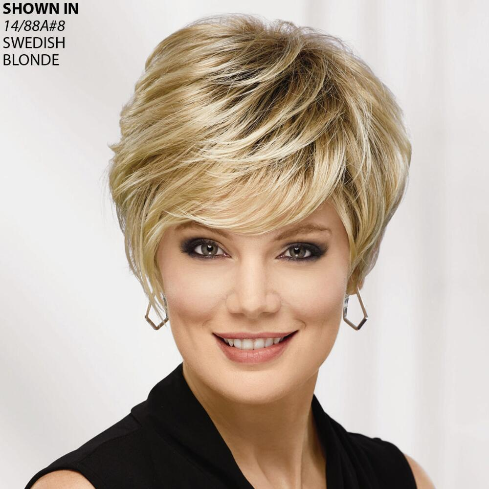 Rooted Euro Collection - Dark Root Hair Color Wigs for Women   Paula