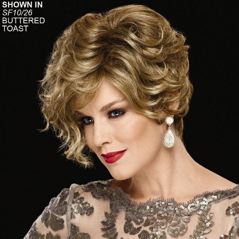 Sheer Flirtation Hand-Tied WhisperLite® Wig by Couture Collection